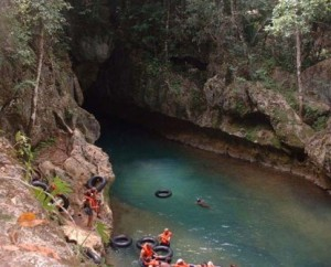 Lets go Cave Tubing
