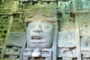 Lamanai Maya Mask