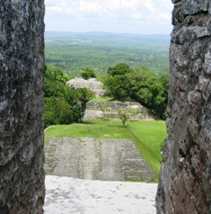 View from Xunantunich