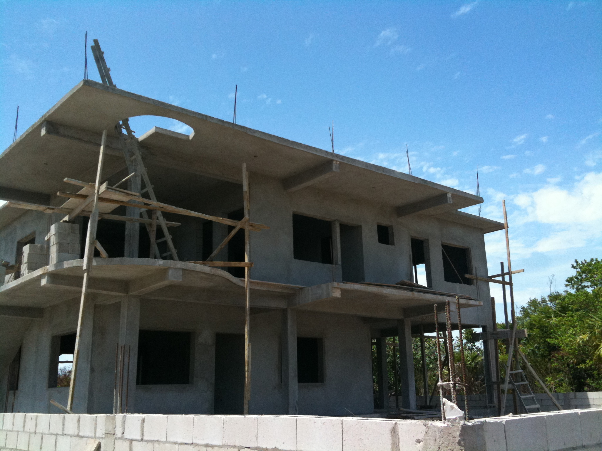 Concrete house for Building a concrete house