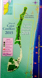 Map of Caye Caulker Island
