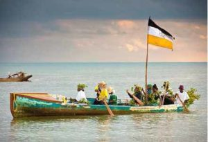 reenactment-of-the-arrival-of-the-garifunas-in-belize